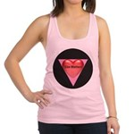 SM-Size-Matters---Heart.png Racerback Tank Top