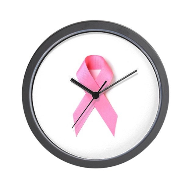 Breast Cancer Awareness Wall Clock by 6six9nine