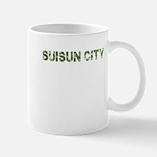 Suisun City, Vintage Camo, Mug