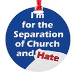 IFTS-I'm-for-the-Separation.png Round Ornament