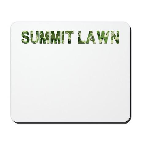 Summit Lawn, Vintage Camo, Mousepad