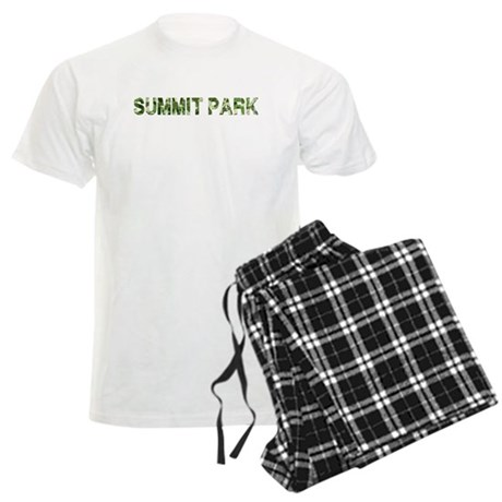 Summit Park, Vintage Camo, Men's Light Pajamas