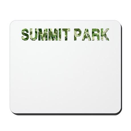 Summit Park, Vintage Camo, Mousepad