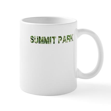Summit Park, Vintage Camo, Mug