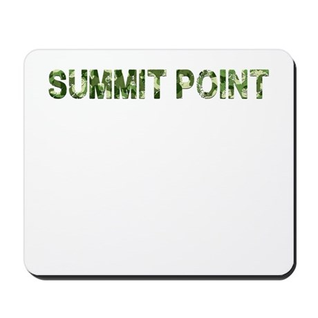 Summit Point, Vintage Camo, Mousepad