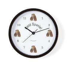 Field Spaniel Wall Clock