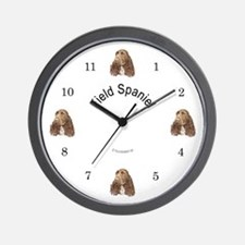 Field Spaniel Wall Clock