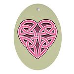 Bijii Heartknot Oval Ornament