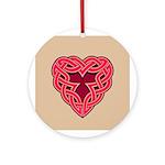 Chante Heartknot Ornament (Round)