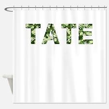 Tate, Vintage Camo, Shower Curtain