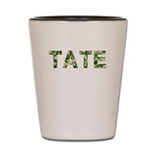 Tate, Vintage Camo, Shot Glass