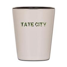 Tate City, Vintage Camo, Shot Glass