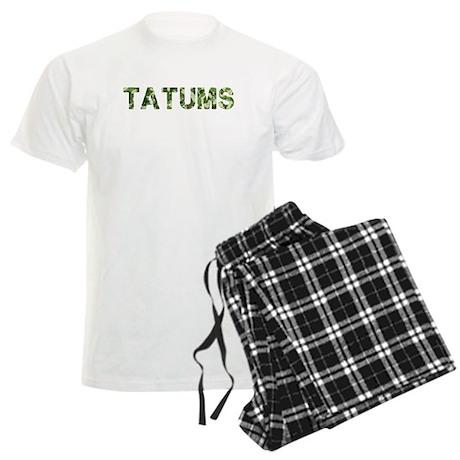 Tatums, Vintage Camo, Men's Light Pajamas
