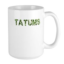Tatums, Vintage Camo, Mug