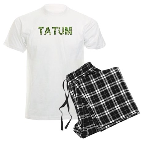 Tatum, Vintage Camo, Men's Light Pajamas