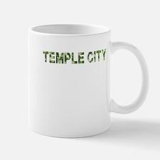 Temple City, Vintage Camo, Mug
