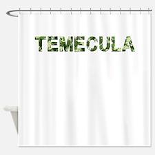 Temecula, Vintage Camo, Shower Curtain