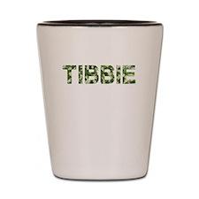Tibbie, Vintage Camo, Shot Glass