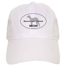 Bedlington Terrier MOM Baseball Cap