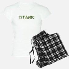 Titanic, Vintage Camo, Pajamas