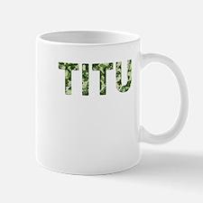 Titu, Vintage Camo, Small Small Mug