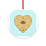 Chonoska Heartknot Ornament (Round)