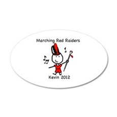 Drum Major - Kevin Wall Decal