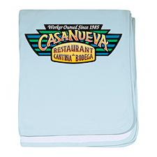 Casa Wing Logo (Color) baby blanket