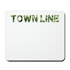 Town Line, Vintage Camo, Mousepad
