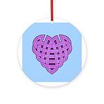 Hesta Heartknot Ornament (Round)