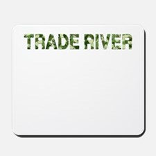 Trade River, Vintage Camo, Mousepad