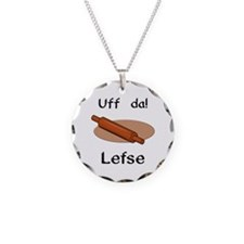 Uff da! Lefse Necklace