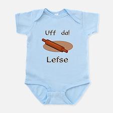 Uff da! Lefse Infant Bodysuit