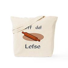 Uff da! Lefse Tote Bag