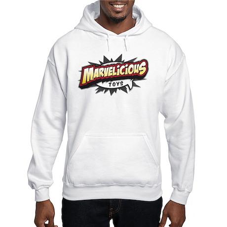 Marvelicious Logo Hooded Sweatshirt