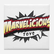 Marvelicious Logo Tile Coaster