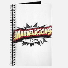 Marvelicious Logo Journal