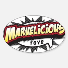 Marvelicious Logo Decal