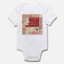 Friendships Are Like Quilts Infant Bodysuit
