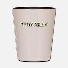Troy Mills, Vintage Camo, Shot Glass
