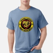Wigan casino heart and s Mens Comfort Colors Shirt
