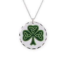 celt_shamrock.png Necklace Circle Charm