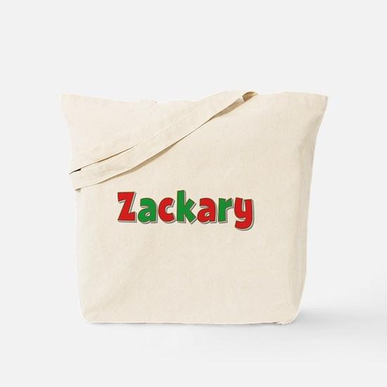 Zackary Christmas Tote Bag