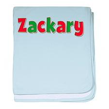Zackary Christmas baby blanket
