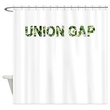 Union Gap, Vintage Camo, Shower Curtain