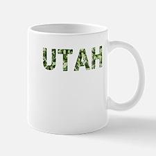 Utah, Vintage Camo, Small Small Mug