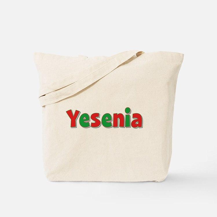 Yesenia Christmas Tote Bag