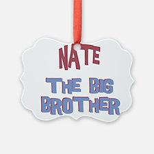 Cute Big nate Ornament