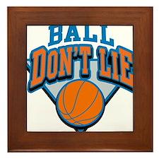 Ball Dont Lie Framed Tile