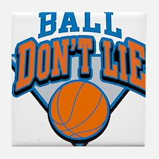 Ball Dont Lie Tile Coaster